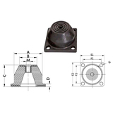 Bell-mounting PDRS
